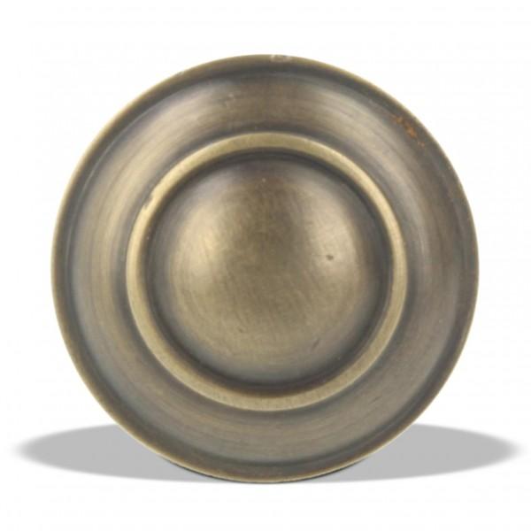 Knopfgriff, kupfer, Ø 2,5 cm