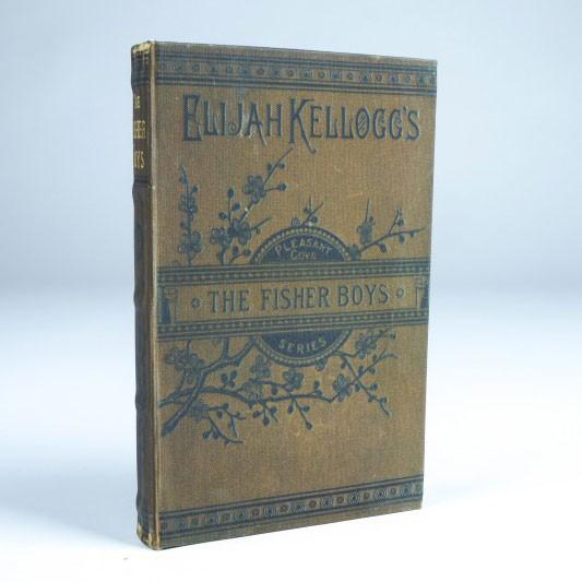 "Buch-Tresor ""The Fischer Boys"", L 3 cm, B 14 cm, H 21 cm"