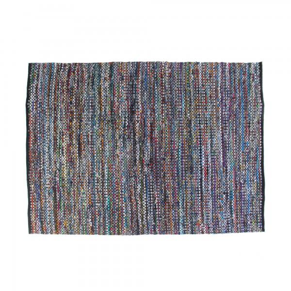 Teppich 'Trtiya', schwarz, T 200 cm, B 140 cm