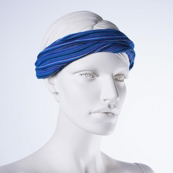 "Haarband ""New York"", aus 100% Baumwolle, blau"