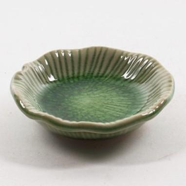 "Schale ""Bananenblatt"", grün, Ø 8 cm, H 2 cm"