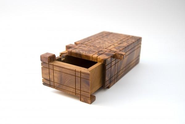 Thuja 'Secret-Box', natur, T 12,5 cm, B 7,5 cm, H 5 cm
