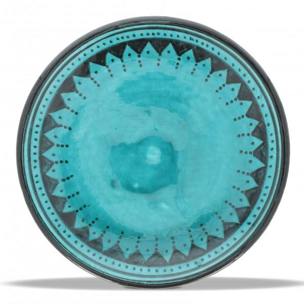 Safiteller, türkis, H 4 cm, Ø 13 cm