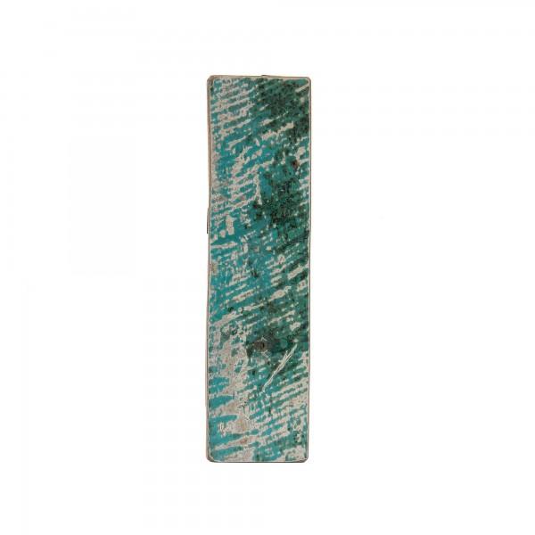 Holzbuchstabe 'I', mehrfarbig, T 2,5 cm, B 13 cm, H 19 cm