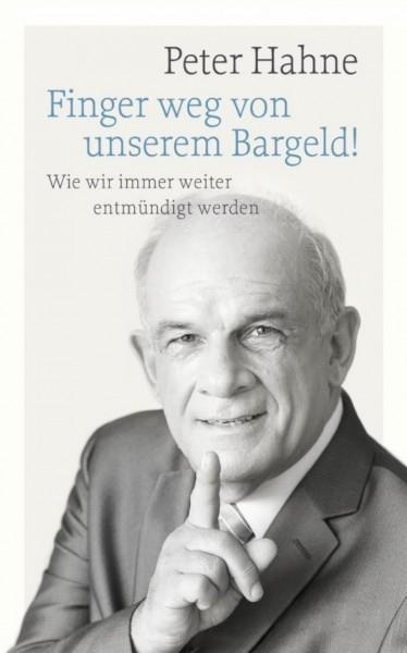 Buch 'Finger weg von unserem Bargeld'
