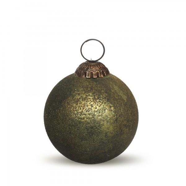 Anhänger Kugel, grün, Ø 7 cm, H 7 cm