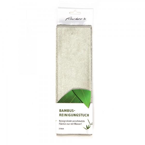 2er Reinigungstuch 'Bambus'