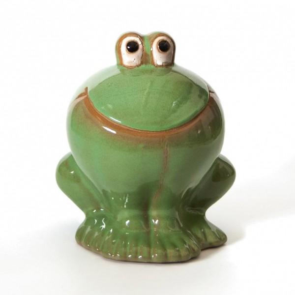 """Frosch """"Freddy"""", hellgrün, H 25 cm, Ø 17 cm"""
