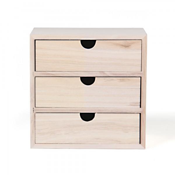 "Schubladenbox ""Luga"", L 11 cm, B 19 cm, H 19 cm"