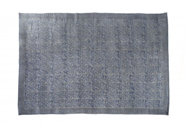 Teppich 'Telangana', handbedruckt, L 200 cm, B 140 cm