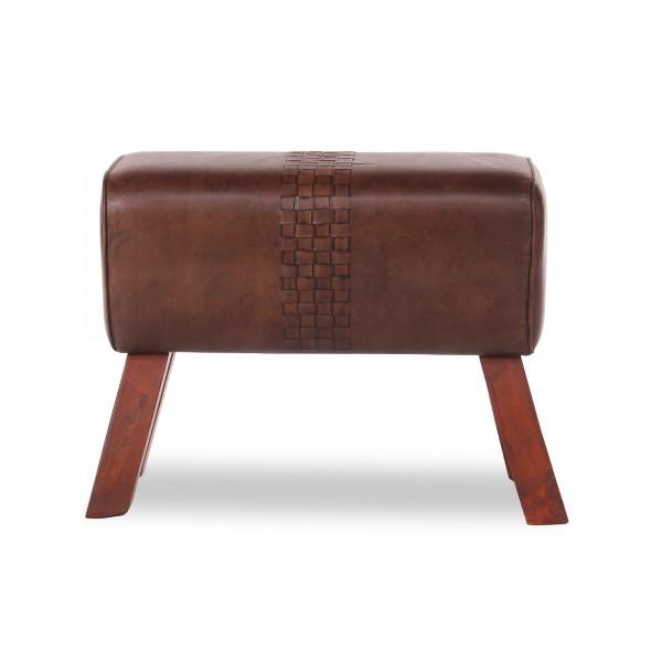 Sitzbock 'Nick', braun, T 63 cm, B 30 cm, H 50 cm