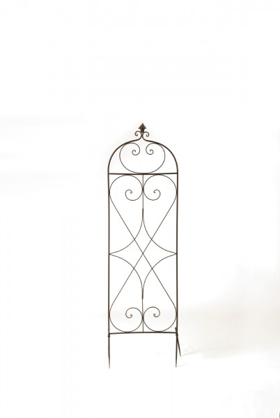 Rankgitter 'Rombus', vintage braun, T 18 cm, B 50 cm, H 176 cm