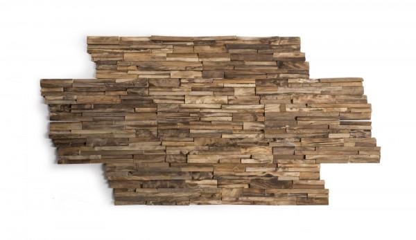 Wandverkleidung 'Roquelle', natur, T 20 cm, B 50 cm
