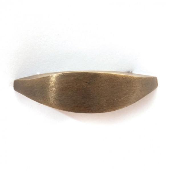 Elipsengriff, kupfer, B 4 cm