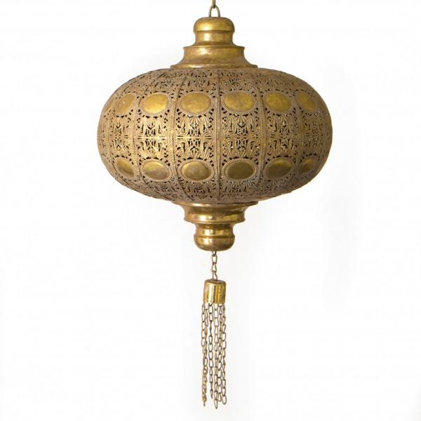 "Laterne ""Taree"", aus Metall, gold, Ø 36 cm, H 38 cm"