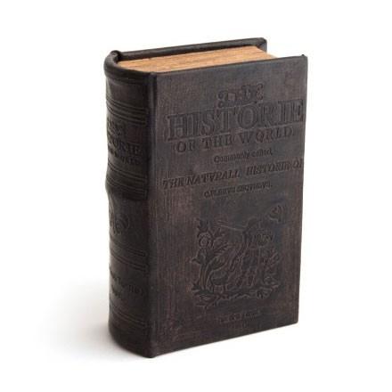 "Buch-Tresor ""History"" groß, L 7 cm, B 16 cm, H 22 cm"
