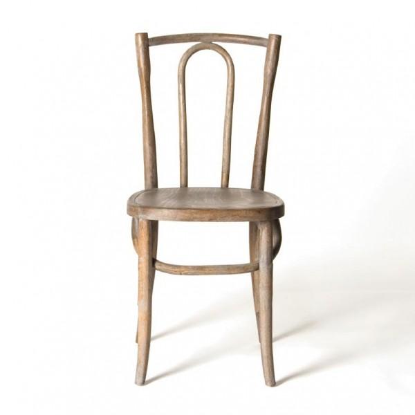 """Stuhl """"Goult"""", weiß, H 93 cm, B 42 cm, T 50 cm"""