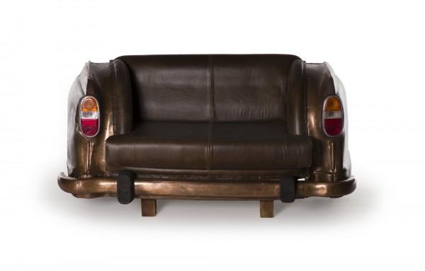 Sofa 'Ambassador Classic', Heck, 2-Sitzer, kupfer, L 70 cm, B 158 cm, H 83 cm