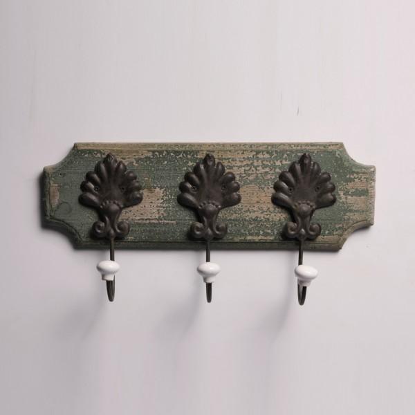 """Wandhaken """"Trembon"""", antik-braun, B 30 cm, H 14 cm"""