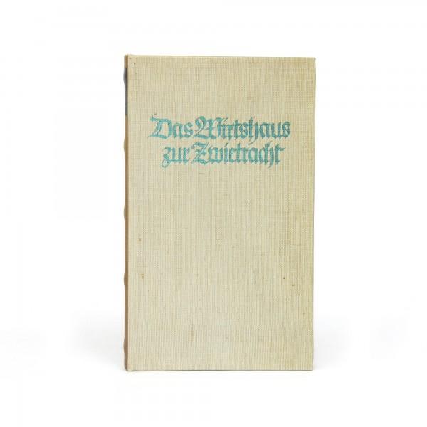 Buchhülle 'Das Wirtshaus', T 3 cm, B 13 cm, H 21 cm