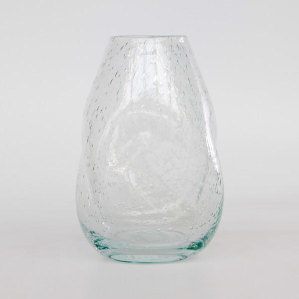 Glasvase 'Punched' , klar, Ø 13 cm, H 20 cm