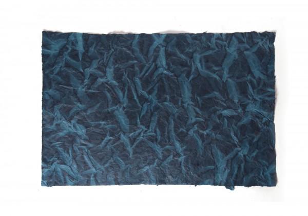 Geschenkpapier Wasser, blau, T 70 cm, B 50 cm
