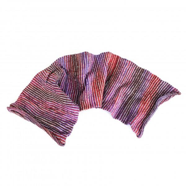 """Schal """"Magic Scarf"""", blau/lila/rot, L 65 cm, B 20 cm"""