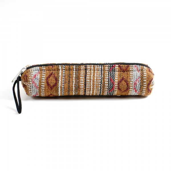 Stifteetui, echte Handarbeit aus Nepal, multicolor, B 22 cm, H 5 cm