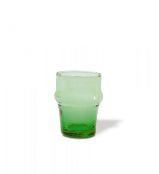 Glasreihe 'Beldi' Glas, grün, Ø 4,7 cm, H 6,5 cm