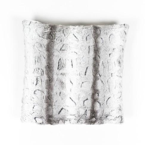 "Kissen ""Wolke"", weiß/grau, L 50 cm, B 50 cm"