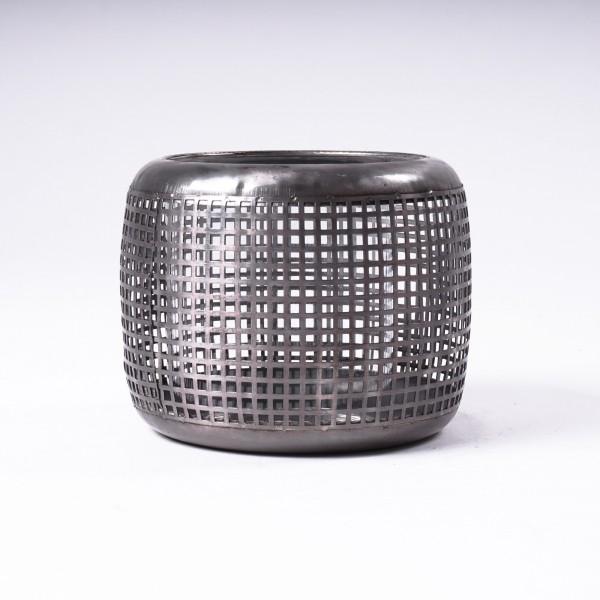 """Windlicht """"Broome L"""" aus Metall, Ø 13 cm, H 11 cm"""