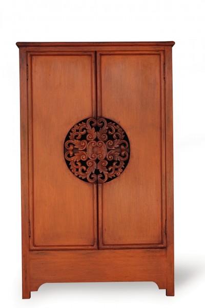 Schrank 'Sukomvit', 2 Türen, orange, T 40 cm, B 62 cm