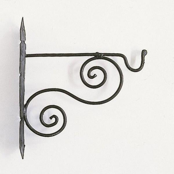 Wandhaken für Laterne, antik-rost, L 19 cm, H 26 cm