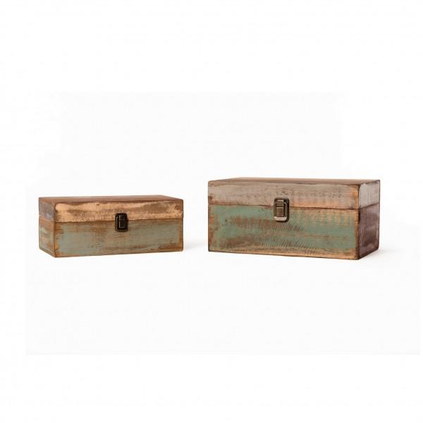Holzbox, im Factory Design, in 2 Größen