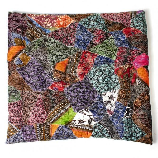 gesteppte Sitzkissen, multicolor, L 100 cm, B 100 cm, H 7 cm