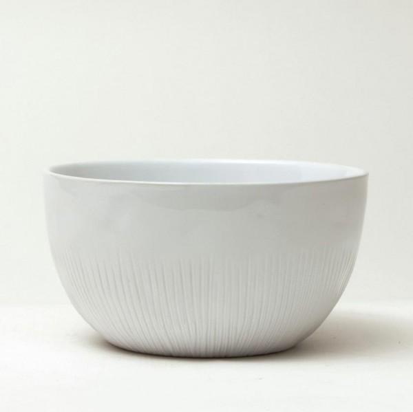 "Schüssel ""Organic"", weiß, H 8 cm, Ø 15 cm"