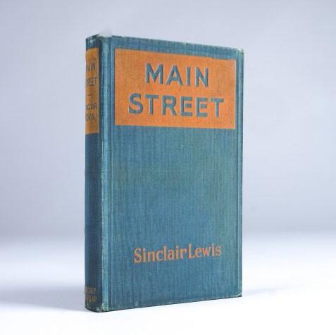 "Buch-Tresor ""Main Street"", L 3 cm, B 14 cm, H 21 cm"