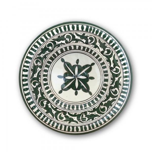 Zierkeramikteller 'Zaytoun', Ø 28 cm, H 6,5 cm