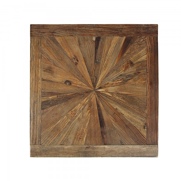 Holztafel, braun, T 65 cm, B 65 cm, H 2,5 cm