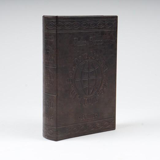 """Buch-Tresor """"Jules Verne - In 80 Tagen um die Welt"""", L 5 cm, B 16 cm, H 24 cm"""