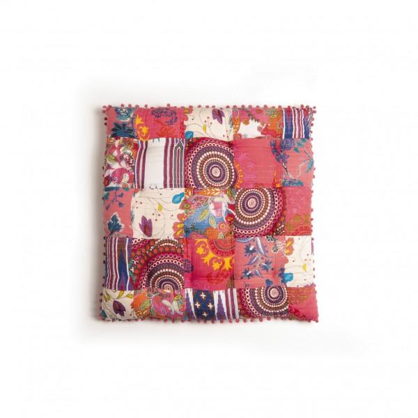 """Kissen """"Hippie"""", multicolor, L 80 cm, B 80 cm"""