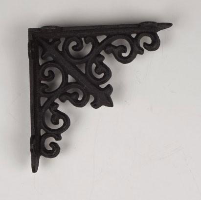 Regalwinkel, antik-braun, L 14 cm, H 14 cm