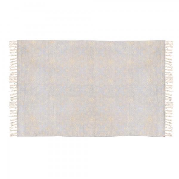 Teppich 'Deoli', hellblau, T 140 cm, B 200 cm