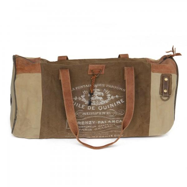 Tasche 'Travel', braun, T 28cm, B 60cm, H 28cm