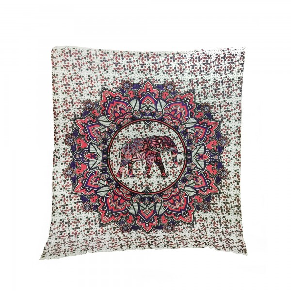 "Tagesdecke ""Elefant"", aus 100% Baumwolle, multicolor, L 210 cm, B 245 cm"