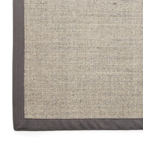 Sisalteppich, hellgrau, L 300 cm, B 200 cm