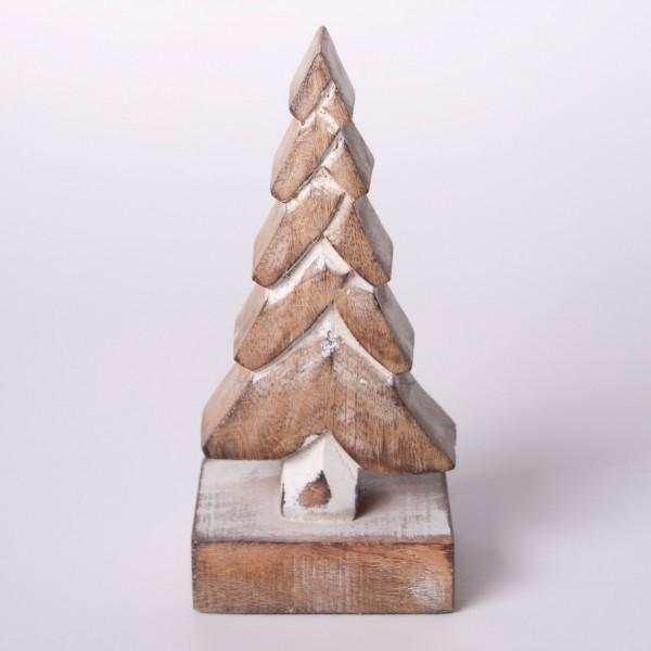 """Dekobaum """"Douglasie"""" L aus Holz, braun, B 8 cm, H 20 cm"""