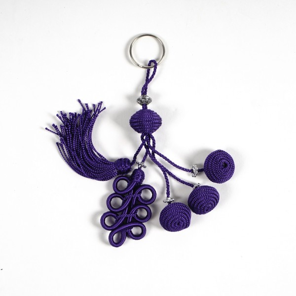 "Troddel ""Pon Pon"", violett"