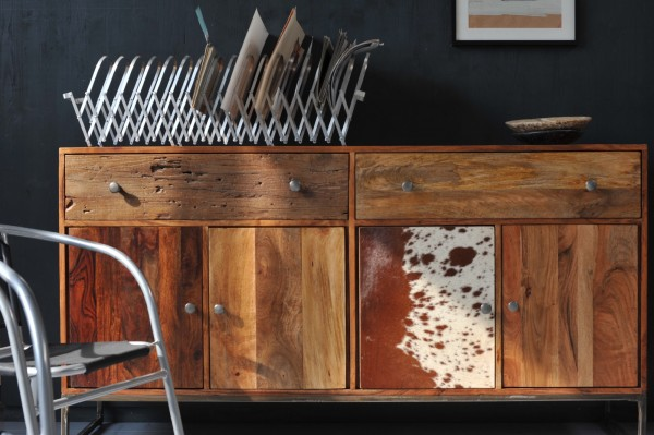 Sideboard 'Denwood', braun, T 40 cm, B 172 cm, H 90 cm