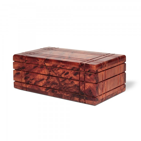 Thuja Secret Box, natur, T 13 cm, B 7,5 cm, H 4,5 cm